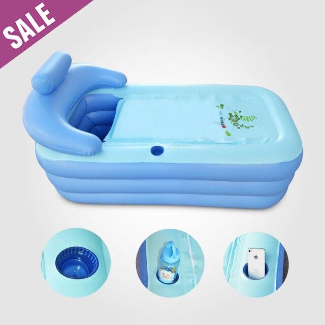 DHL Adult Spa PVC Folding portable Plastic bathtub for adults ...