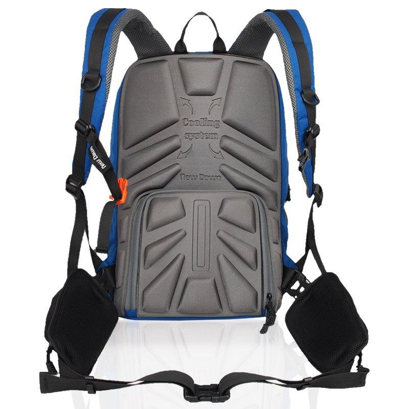 CD50   Newdawn camera bag double-shoulder slr professional anti-theft digital camera bag casual travel backpack camera bag