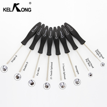 KELKONG 8Pcs Adjustment Tool Pac Man/Small Man/Single D/Small Single D/Double D/Hexagon/7Teeth /21Teeth Splined Screwdriver