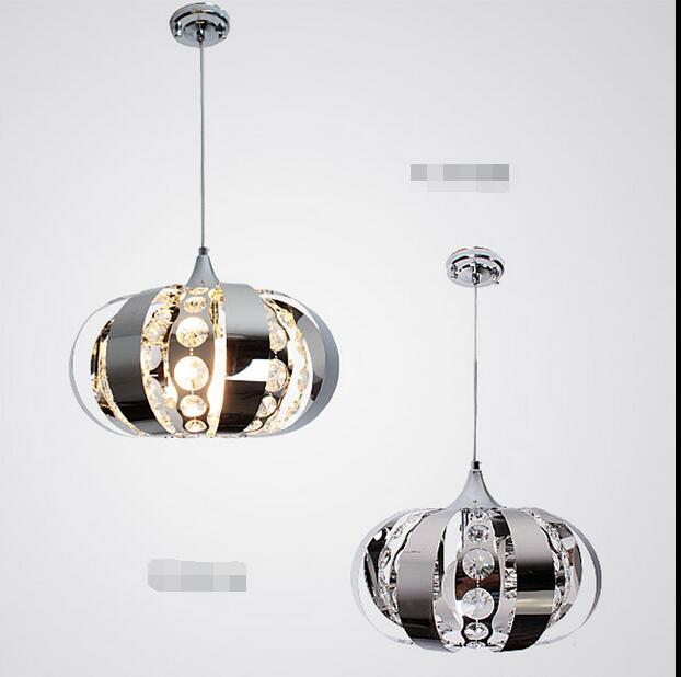 crystal light steel crystal lamp NEW K9 pendant light living room restaurant lamp Pendant lamps ZCL 3 rings k9 crystal pendant lamp diamond