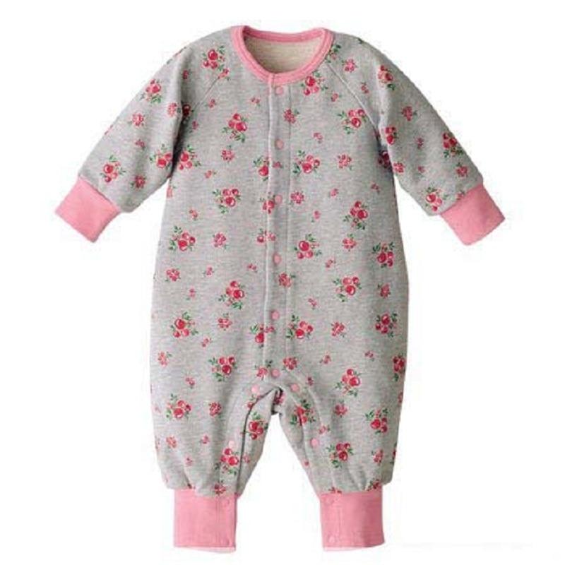 Bebé Mamelucos bebé Niñas ropa manga larga Monos para la muchacha Abrigos  una pieza Monos algodón 6d1c942b2eaf