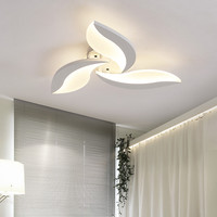 European Nordic Modern Design Hallway Balcony Stairs Porch Acrylic Dolphin Unique Shape Led Ceiling Light Lamp Home Lighting