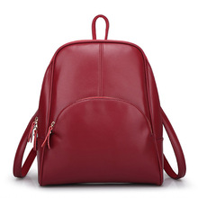 DICOOL Design Cow Leather Women Backpack Genuine Leather School Student Shoulder Bag 5 Colors High Quality Daily Bag