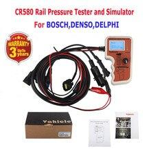 CR508 Diesel Common Rail Probador de Presión y Sensor de Simulador Para Bosch Denso Delphi Herramienta de Prueba de Diagnóstico Herramientas de Alta Presión