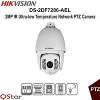 Hikvison الأصلي النسخة الإنكليزية DS-2DF7286-AEL شبكة ptz كاميرا 2mp ir حرارة منخفضة جدا تصنيف ip66 cctv كاميرا