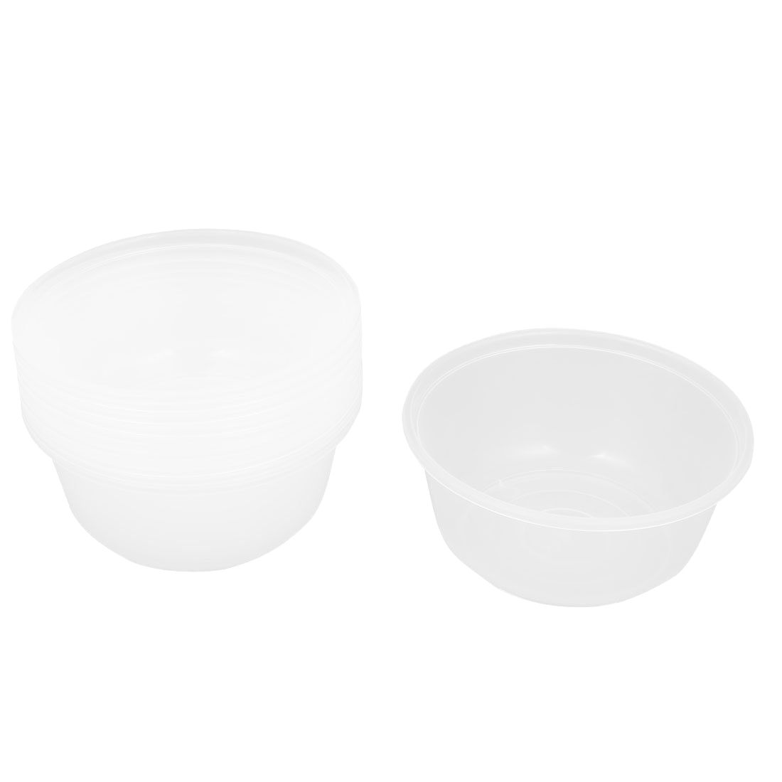 SDFC-PP 700 model, for wedding / birthday / party soup food bowl, 10 pieces, transparent