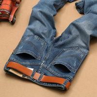 2016 summer style famous brand  men jeans pants Thin cotton mens jeans denim straight trousers luxury jeans for men 20P132