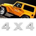 Новый Пластик + алюминий 3D 4x4 Объем наклейки Автомобилей Логотип Герба Знак Грузовик Auto Motor Car Styling Наклейки наклейка горячий новый