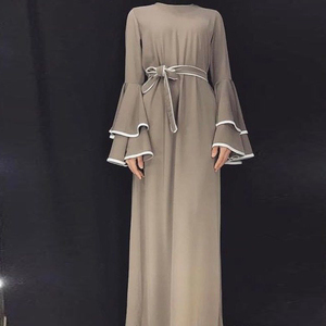 Image 3 - דובאי העבאיה קפטן חיג אב מוסלמי אופנה שמלת קפטן טורקיה Abayas לנשים אירופאי תורכי אסלאמי בגדי Musulman דה מצב