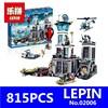 CX 02006 Models Building Toy 815pcs Building Blocks Compatible With Lego 60130 City The Prison Island