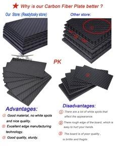 Image 5 - Láminas de paneles de fibra de carbono, 400mm X 200mm, 0,5mm, 1mm, 1,5mm, 2mm, 3mm, 4mm, 5mm de espesor, Material compuesto de dureza