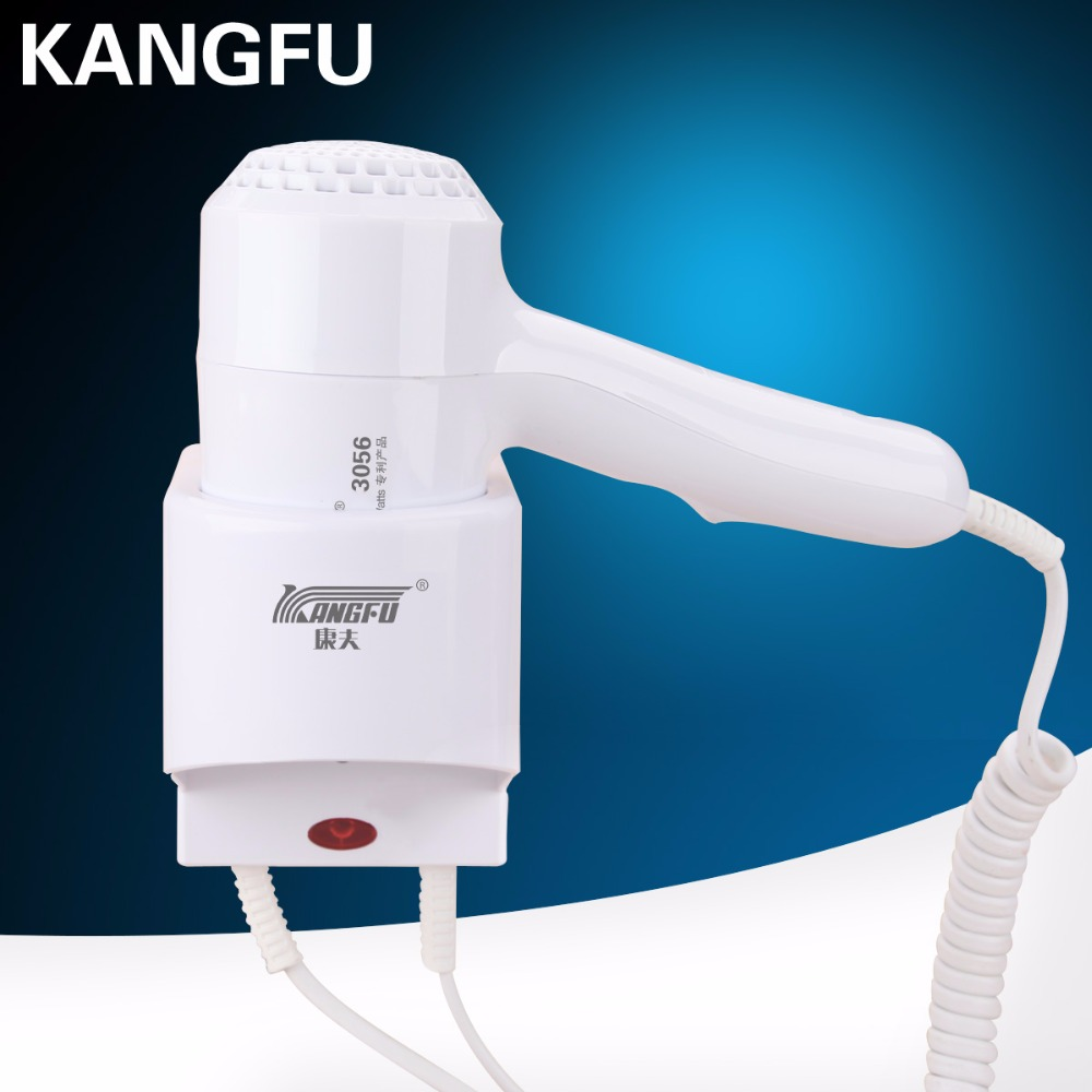 Hotel Wall mounted hair dryer styling hair Thermostatic overtemperature protection Automatically shut down electric blow dryer