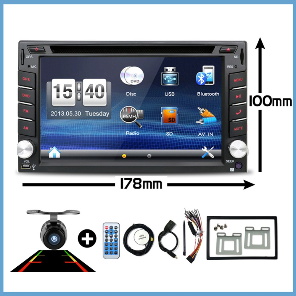 2018 Nieuw! 2 DIN Auto DVD GPS-speler voor Nissan X-TRAIL Qashqai Paladin Livina Sylphy Tiida Sunny x trail radio TV bluetooth Camera