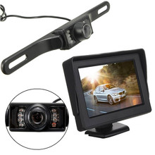 IR Wireless Night Vision Car Rear View Rearview Camera With 4 3 inch TFT Color LCD