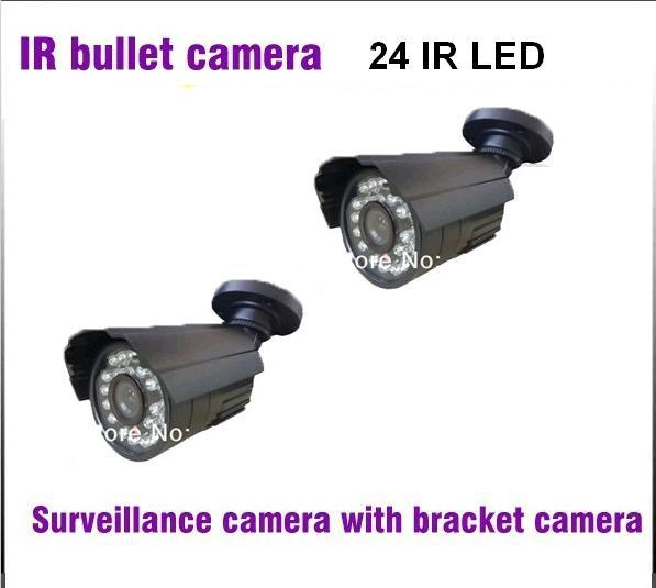 CCTV Camera 420TVL 700TVL 1/3 CMOS 24Pcs LED Security Camera IR Night Vision Video Surveillance Camera Outdoor with Bracket 1 3 sony cmos 1200tvl cctv security camera metal ip66 24 led color ir night vision surveillance home outdoor video camera