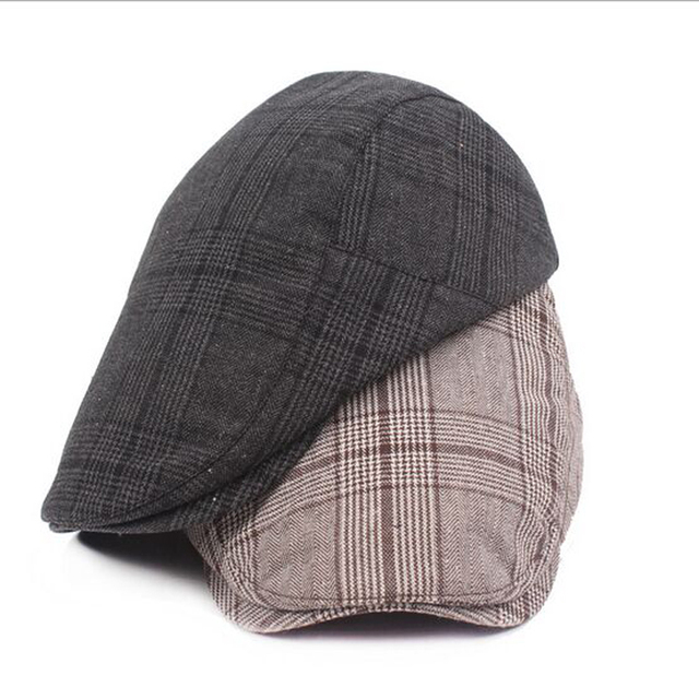 New England Style Beret Hat Fashion Sun Proof Hat for Women Men Casual Golf  Headwear Visors 1be740ded23