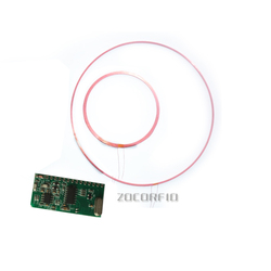 ISO11784/85 FDX/HDX 125-134.2KHZ Lange afstand RFID Dier Tag Reader Module TTL Interface