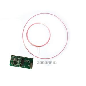 ISO11784/85 FDX/HDX 125-134.2KHZ Long distance RFID Animal Tag Reader Module TTL Interface