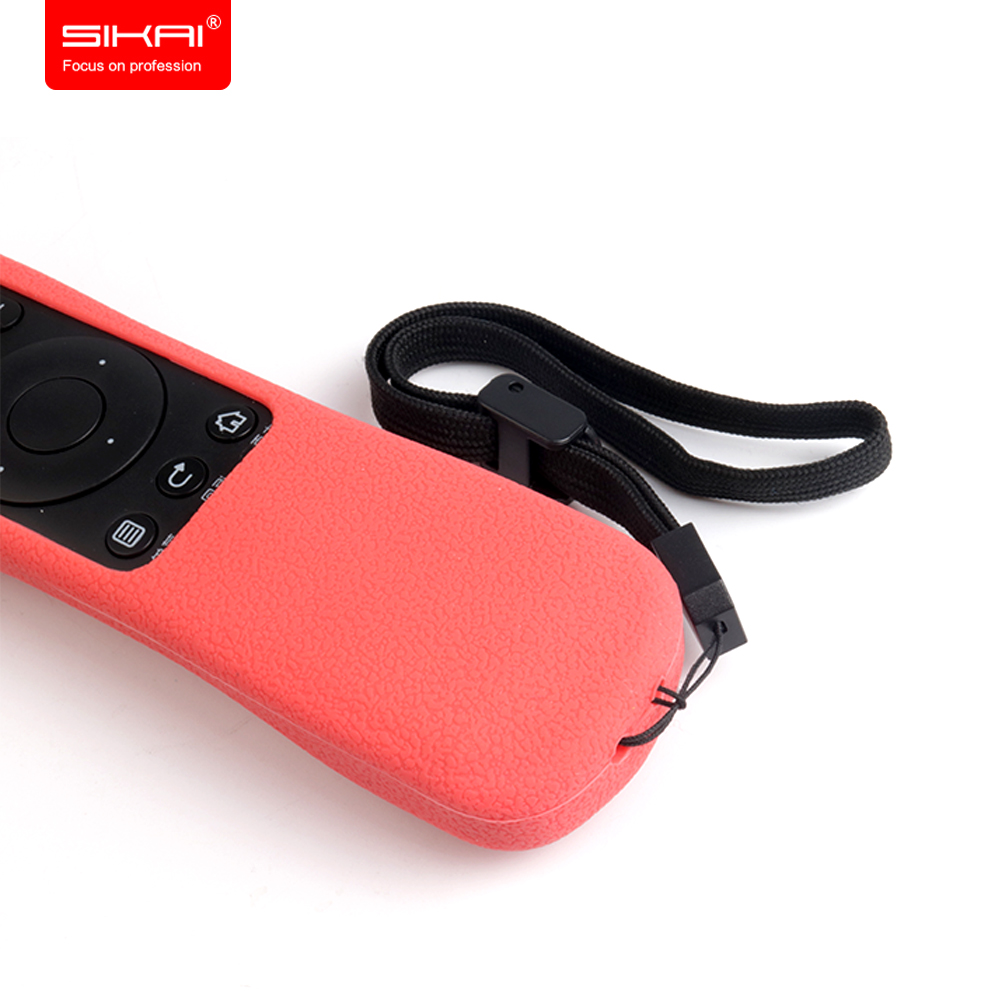 SIKAI Lembut Silicon Kasus Untuk Haier Smart TV Remote Control Kasus - Aksesori dan suku cadang ponsel - Foto 5