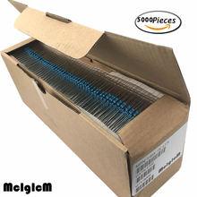 MCIGICM 1/4 واط معدن مقاوم من غشاء 0.33 2.2 متر أوم المقاومات 22R 47R 22K المقاومة