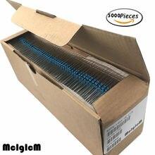 Résistance à film métallique MCIGICM 1/4W résistances ohm 0.33 2.2M résistance 22R 47R 22K