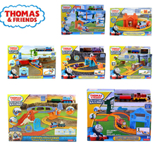 Original Brand Thomas Carros Track Model Cars Train Kids Plastic Metal Toy-cars- Thomas and Friends Toys For Children Juguetes все цены