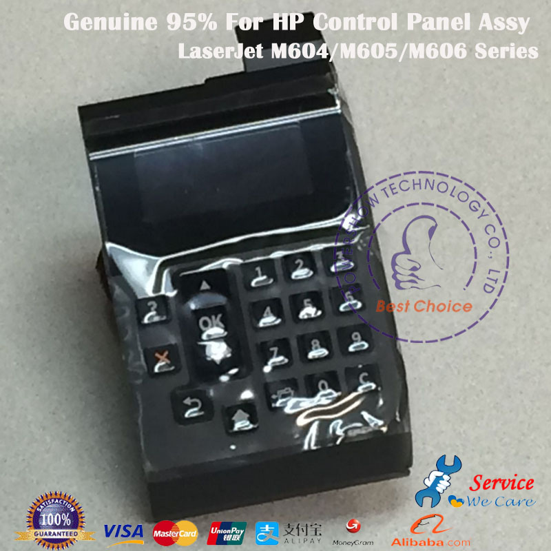Original New RM2 7682 RM2 7682 000CN Control Panel Assembly Dispaly For HP M604 M605 M606