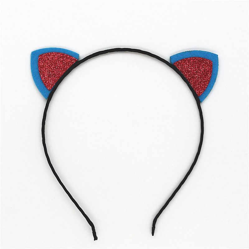 สไตล์หญิงสาวเลื่อมหูแมวคาดศีรษะหัวหน้าห่วงเด็กอุปกรณ์ผมสำหรับผู้หญิงเทศกาลH Eadwearเซ็กซี่ผมวง