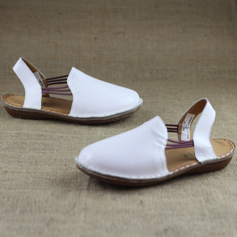 Careaymade-2019 New Artistic flat-heeled sandals of series made by hand in summer casual shoes female genuine Leather sandals