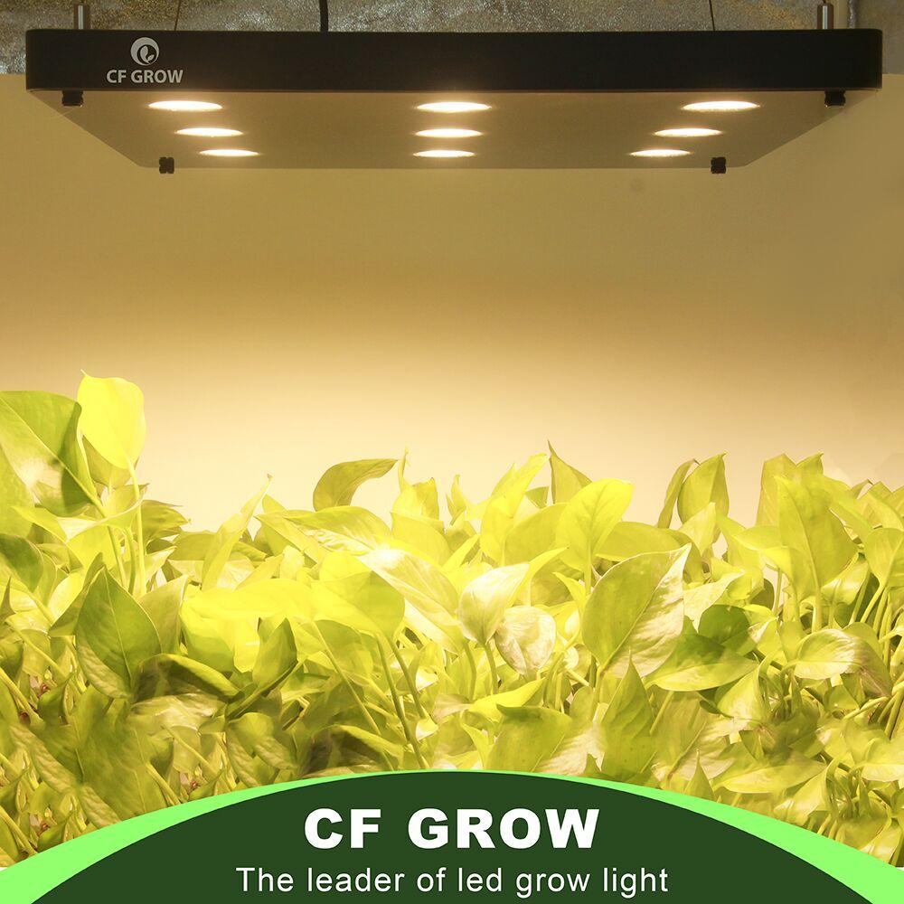 CF GROW Ultra thin LED Grow Light 360W 540W 810W Full Spectrum Growing Panel for Hydroponic