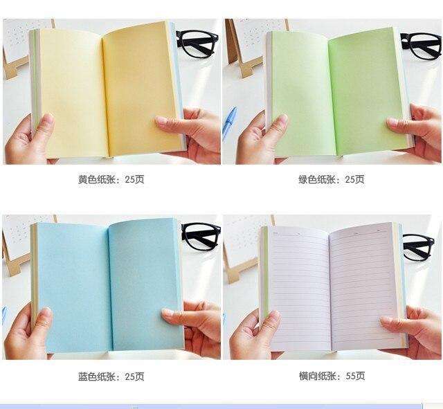 Deliciosa dot Arco Iris interior páginas diario lindo cuaderno de ...