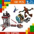 432 шт. Бела 10249 Knowhere Эвакуации Миссии Игрушки удивительные увлекательный таинственный Ракеты Sakaaran Nebula Совместим С Lego