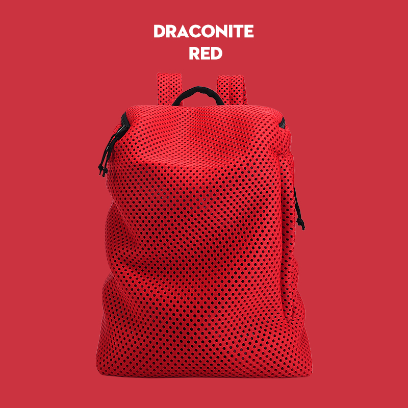 This Perfect Backpack 2018 Mesh Hole Travel Backpack Ultra-light Material Design Men Business Fashion Message Backpack Travel mesh panel iridescence backpack