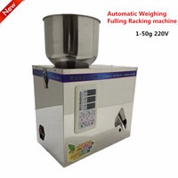 New Automatic Weighing With Vibration Small Granular Pack Food Package 1 50g 220V Fulling Racking Machine