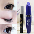1Set=2pc Professional Makeup Set Black Mascara + Mascara Fiber Lengthening Thick Waterproof Women Eyes Makeup Eyeflashes