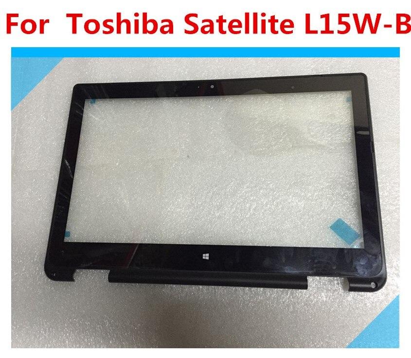 NOUVEAU pour Toshiba Satellite Radius L15W-B L15W-B1208 L15W-B1303 B1310 B1320 B1208DTouch Écran Numériseur En Verre avec lunette