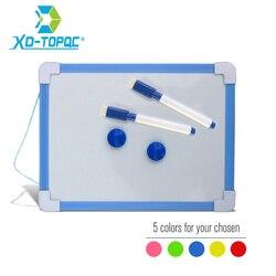 20,5*15,6 см Магнитная детская доска, доска для сухого вытирания, 5 цветов, рамка, маленькая белая доска для рисования, маленькая подвесная доска ...