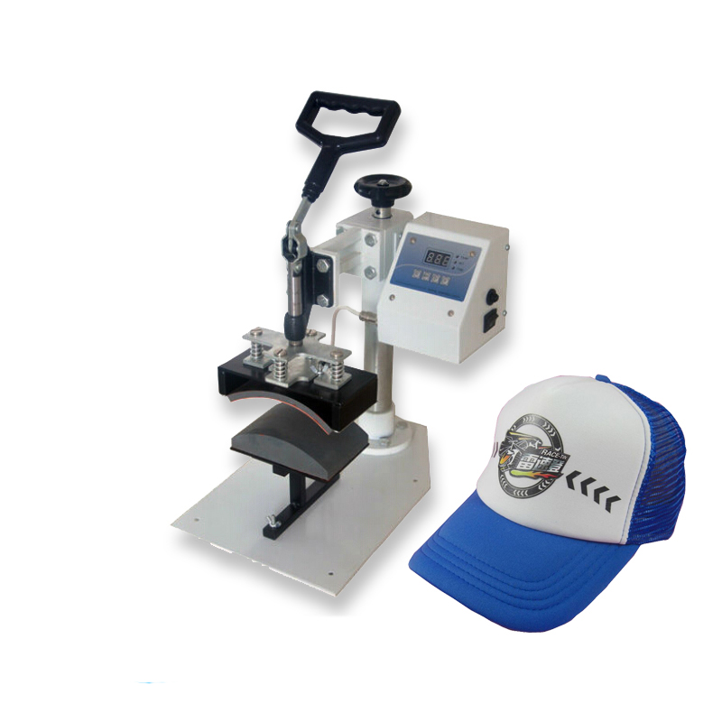 Heat Press Machine Cap Press Machine Hat Heat Transfer Printing Machine digital heat transfer baking cup machine single display quaff