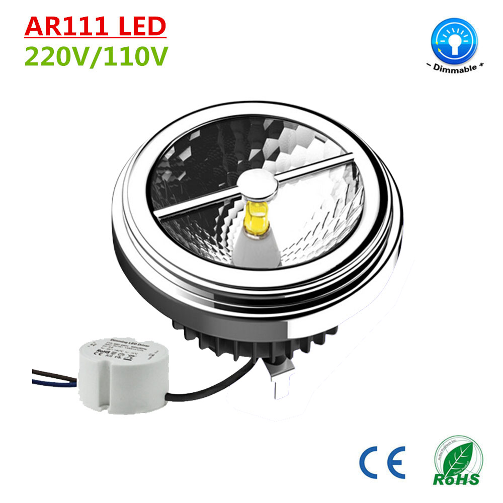 Led G53 Us 460 68 Newest Ar111 Led G53 Dimmable15w 110v 220v Cree Chip Ar111 Spotlight Warm Day Cool White 2700k 3000k 4000k 5500k Dhl Free Ship In Led