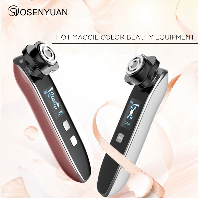 цена на home use RF beaute portable facial machine with LED therapy handheld beauty device Wrinkle Removal Skin Tightening Anti Aging