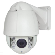 Free shipping 1080P 2MP 10X optical zoom 50m IR night vision outdoor waterproof p2p IP network ptz camera speed dome OSD menu