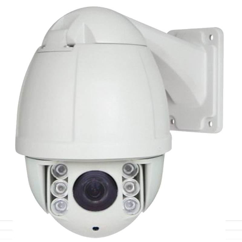 Free shipping 1080P 2MP 10X optical zoom 50m IR night vision outdoor waterproof p2p IP network ptz camera speed dome OSD menu 4 in 1 ir high speed dome camera ahd tvi cvi cvbs 1080p output ir night vision 150m ptz dome camera with wiper