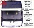 Сплит-монтажный 48 Светодиодный 900lm солнечный светильник PIR движения радар светодиодный шнур smart swtich 112 s 5 м кабель Уличный настенный уличный ...