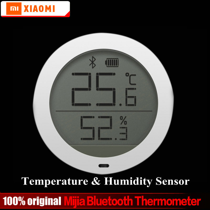 Xiaomi Mijia Bluetooth Temperatur Luftfeuchtigkeit Sensor Digitale Hygrothermograph Hygrometer Thermometer Feuchtigkeit Meter Lcd-bildschirm