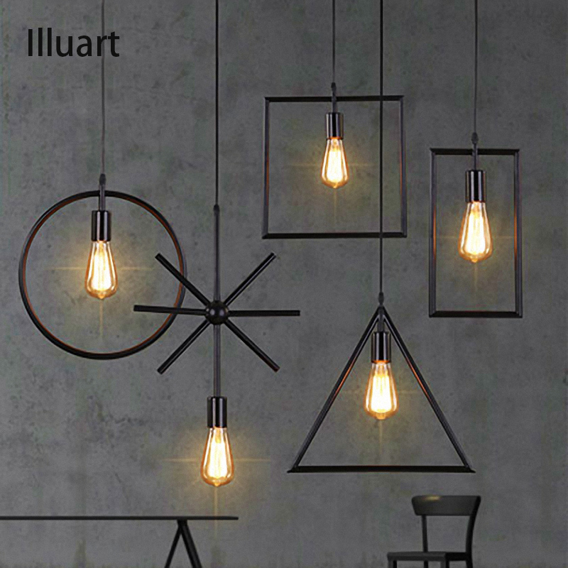 Loft Style Vintage pendant Lamp Iron Industrial Retro Pendant Lamps Restaurant Bar Counter Hanging Chandeliers cafe Room new style vintage e27 pendant lights industrial retro pendant lamps dining room lamp restaurant bar counter attic lighting
