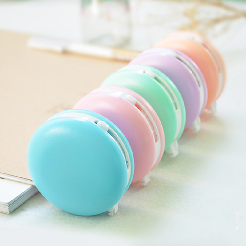 Cute Kawaii Macaron Candy Color Correction Tape Eraser School & Office Supply Student Stationery Kids Gift