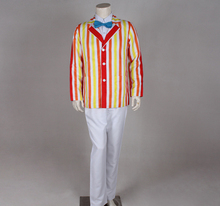 100%real Mary Poppins cosplay jacket with pants and shirt &bowknot cartoon anime cosplay