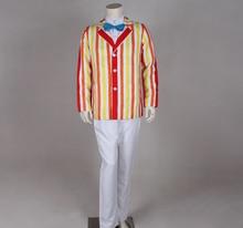100 real Mary Poppins cosplay jacket with pants and font b shirt b font bowknot cartoon