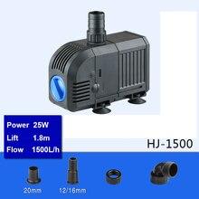 Cylinder FILTER-PUMP Sunsun Circulating Mini Submersible Water HJ-1500 Fish-Tank