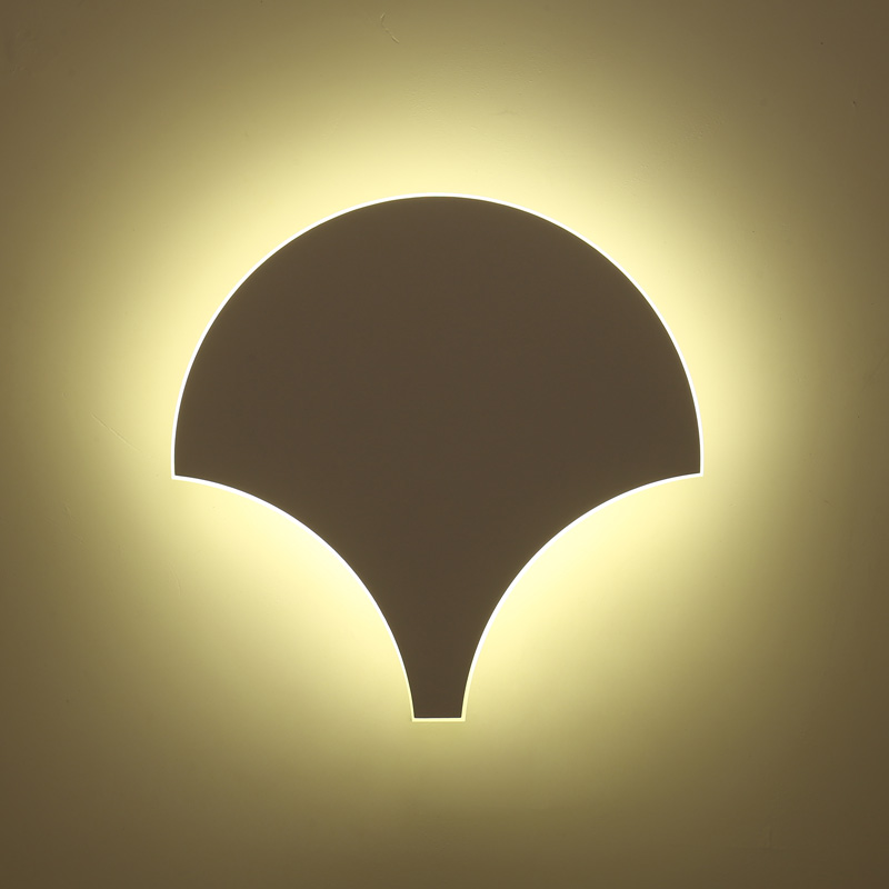 Nordic creative Modern led Wall Lamps art for living room bedroom bedside lighting high quality led wall lights Home Decoration creative waterproof flowers pattern wall stickers for living room bedroom decoration
